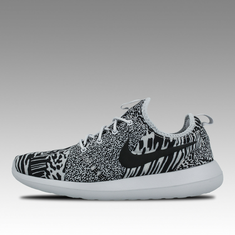 Nike roshe zapatillas two ID zapatos zapatillas roshe Training Free Free corre lote de fitness gris 343113