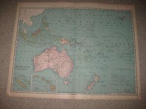 Enorme tamao de folio antiguo 1898 oceania malasia hawaii polinesia la imagen se est cargando enorme tamano de folio antiguo 1898 oceania malasia gumiabroncs Gallery