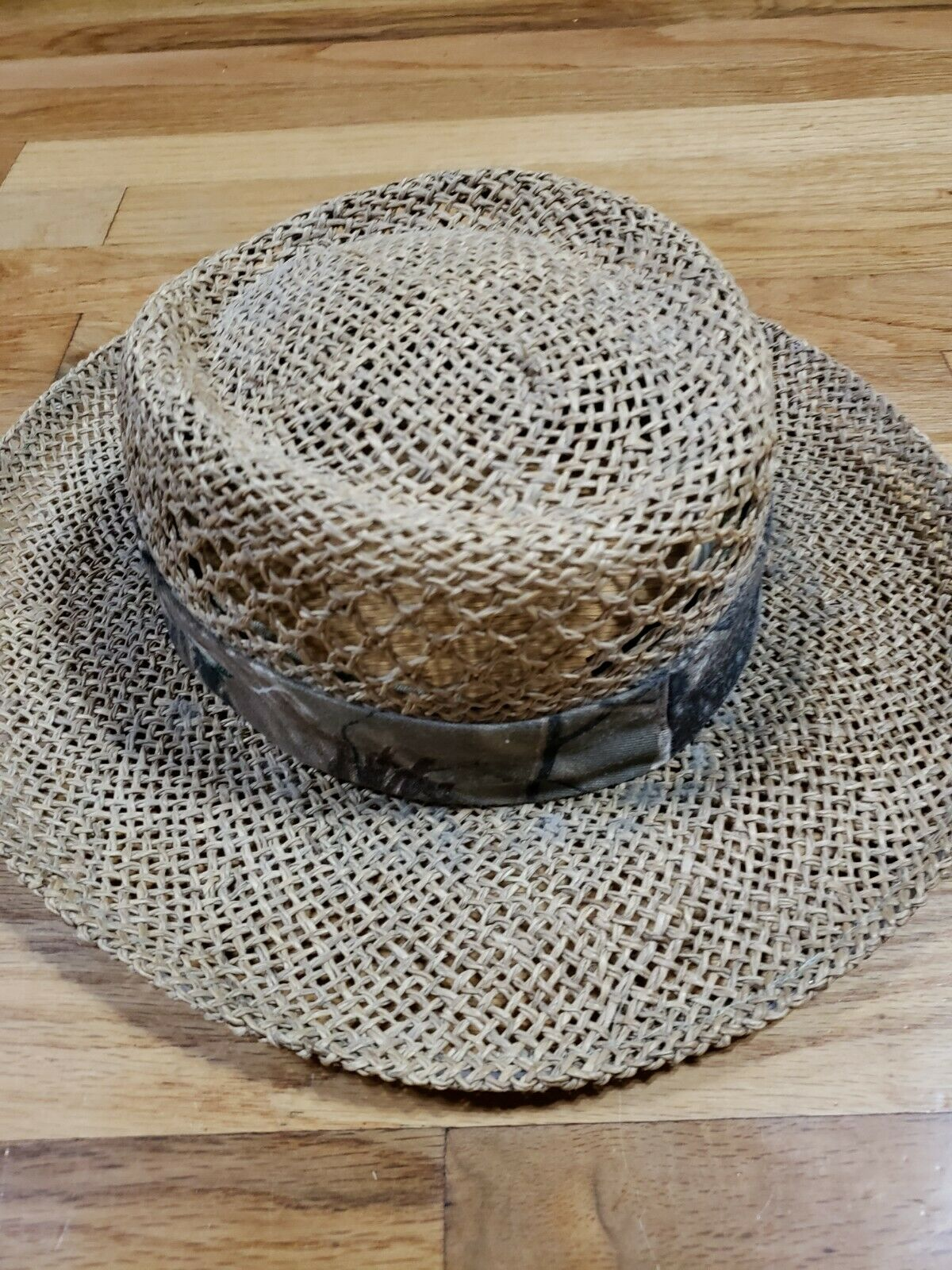 Authentic RedHead Straw Hat Cap 100% Straw One Si… - image 4