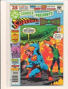 DC-Comics-Presents-26-1st-New-Teen-Titans-VF-Cond