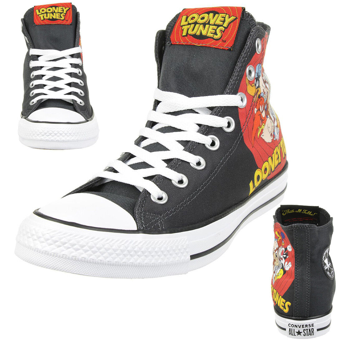 Converse C Taylor A/S HI Chuck Schuhe Sneaker canvas Looney Tunes 160901C