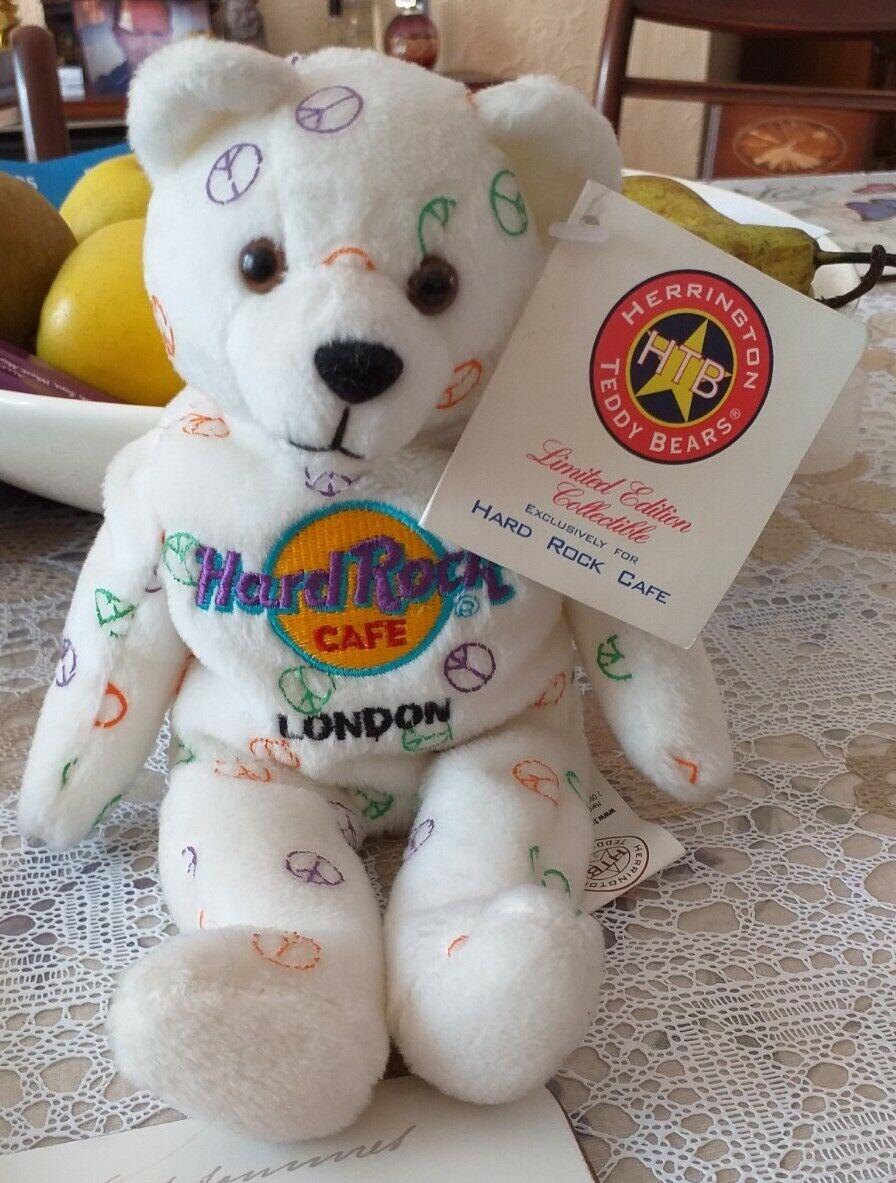 Herrington Hard Rock Cafe London Peace Bear ***** NEW LOWER PRICE *****