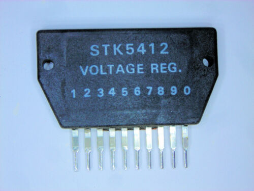"STK5412 ""Original"" Sanyo 10P SIP IC 1 PC"