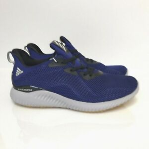 e8fb3f953 Adidas Alphabounce Bounce 1 Mystery Ink Core black Blue Orange Grey ...