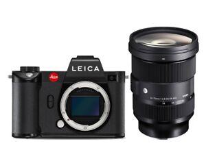 LEICA-SL2-schwarz-10854-Kit-Sigma-24-70mm-2-8-DG-ART-L-mount