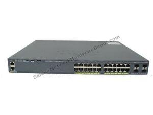 Cisco-WS-C2960X-24PS-L-GENUINE-2960X-24-Port-Gigabit-PoE-1-Year-Warranty