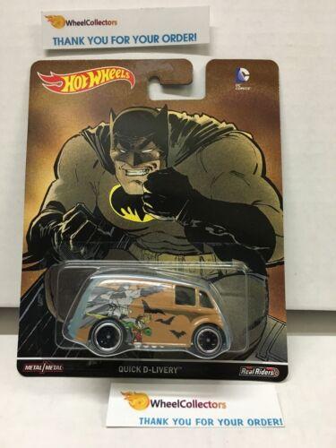 2016 DC Comics Hot Wheels Pop Culture G25 Quick D-Livery Batman Superman