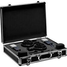AKG C414 XLS Stereo Set Condenser Mics w/ Shockmounts, Windscreens & More