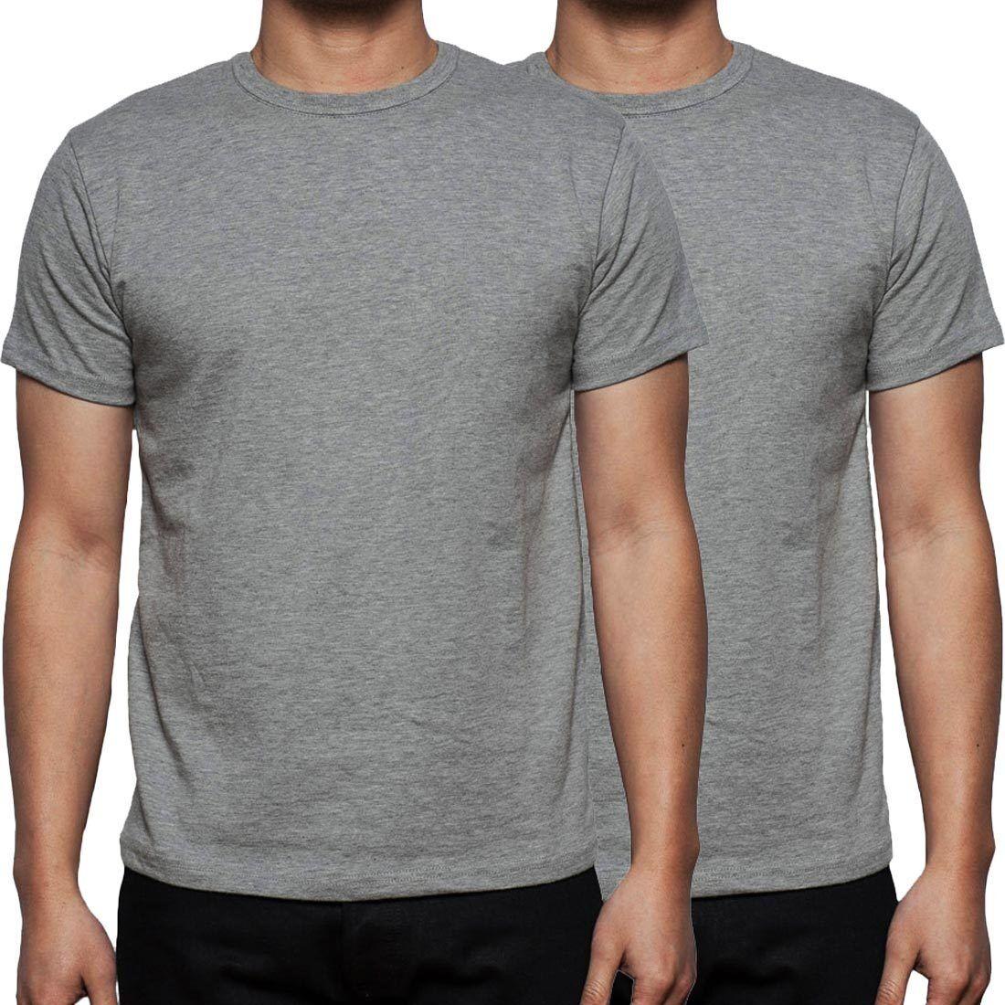Mens gaffer 2 5 7 10 lot multi pack plain basic cotton for Plain t shirt pack