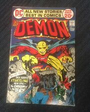The Demon #1 (Aug-Sep 1972, DC) First Appearance of Etrigan. Jack Kirby