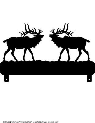 BUCK DOE AND FAWN  HOUSE NUMBER STEEL TEXTURED BLACK POWDER COAT FINISH