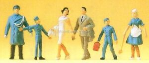 H0-Preiser-14131-Au-Hotel-figurines-EMBALLAGE-D-039-ORIGINE