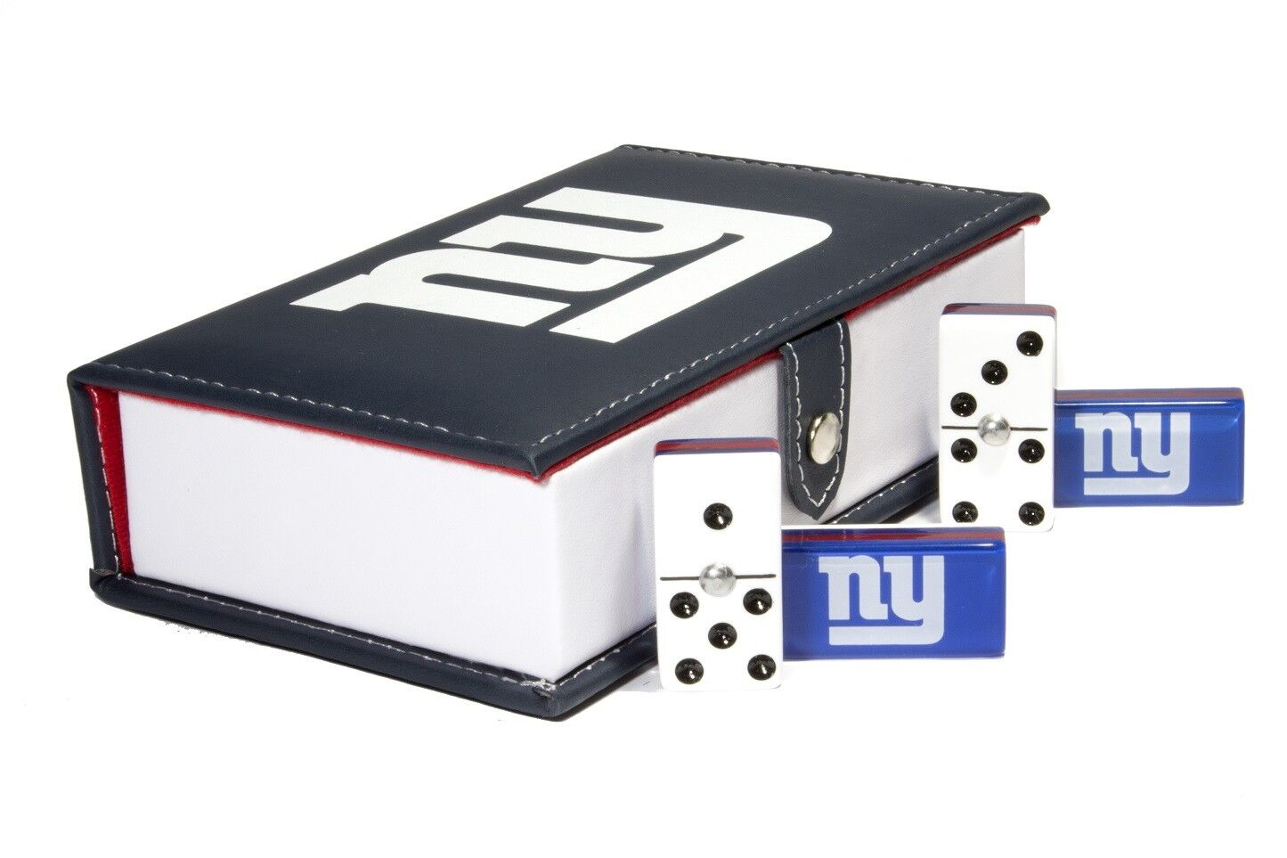 nuovo  York Giants Domino 100% Acrylic, Faux Leather Case  bellissimo