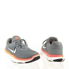 Men's Nike Free Trainer V7 Shoes Gray Orange Synthetic Sneakers Size 9.5 M