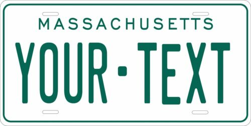 Massachusetts 1977 license plate Personalized Auto Car Custom VEHICLE OR MOPED