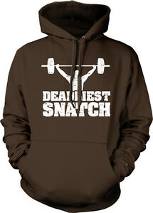 Entrenamiento Más Weight Show Train mortal Clean Hoodie Sweatshirt Jerk Gym Lift Snatch zCYrqawC
