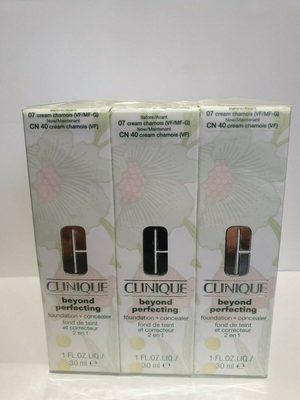 Clinique Beyond Perfecting Foundation And Concealer 01 Linen 30ml For Sale Online Ebay
