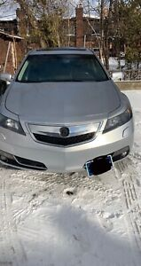 2013 Acura TL Tech pack