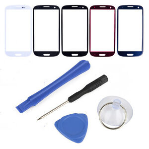 Front-LCD-Touch-Screen-Outer-Screen-Glass-Lens-Cover-Tools-For-Samsung-Phones