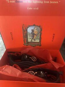 "Details about MSCHF x Lil Nas X ""Satan Shoe"" Air Max 97 Size 10.5 405/666"