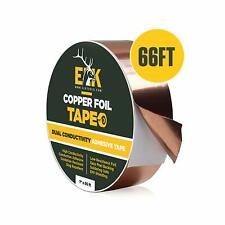 Copper Foil Tape With Conductive Adhesive For Guitar Amp Emi Shielding 1 X 66