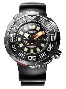 Citizen-Promaster-Eco-Drive-1000m-Titanium-Sapphire-Men-039-s-Watch-BN7020-09E