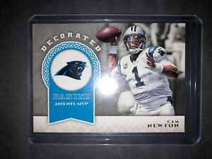 2017-PANINI-DECORATED-FOOTBALL-CAM-NEWTON-2015-NFL-MVP-D-CM-NFL-CARD-PANTHERS
