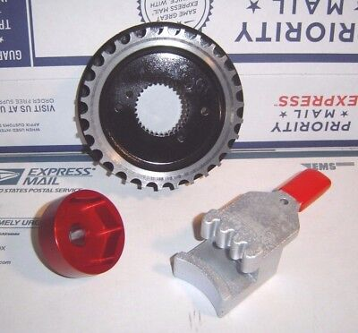 Sportster 30 Tooth Front Pulley /& Tools 1991-2003 Transmission Harley 30TS-1B