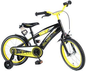 Vélo pour enfants Volare Freedom 16 pouces frein noir / jaune Coaster 95% monté