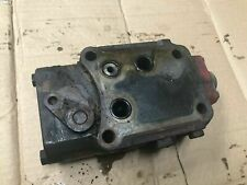 Ih International 340 Utility Tel A Depth Valve And Actuating Lever Off Runner