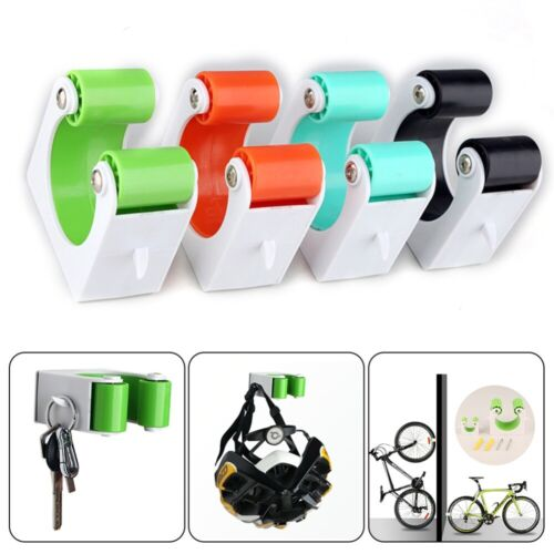 Portable Bicycle Wall Mount Hook Parking Rack MTB Bike Buckle Stand Holder