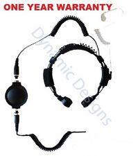 For Kenwood THF7 K20 K40 TK2000 TK2302 TK2312 TK2317 HeavyDuty Throat Microphone