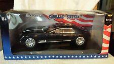 1:18 Ricko 2003 Cadillac Sixteen 16 Diecast Car Model Met.Blue 32126 Rare