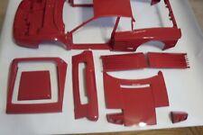 Pocher 1:8 Fensterrahmen Türrahmen Ferrari Testarossa K52 BG D L10