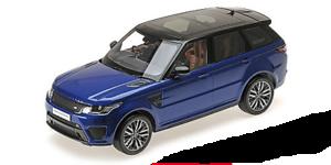 09545bl -land Rover C Range Rover Sport SVR \95533;C Estoril blå