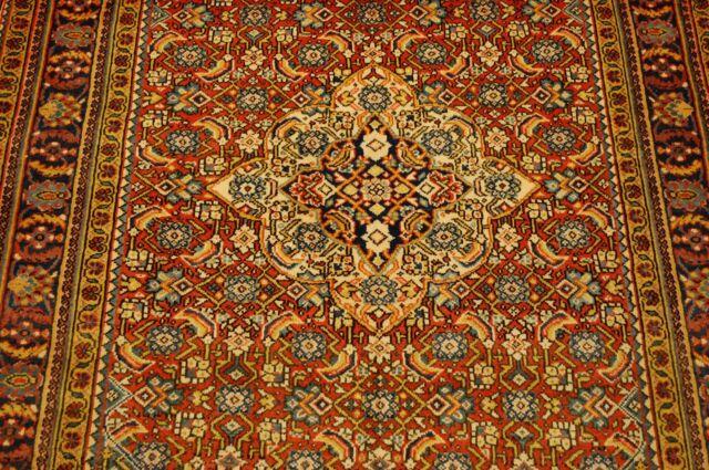c1930s ANTIQUE SUPER DETAILED PERSIAN SAROUK RUG 3.7x5.2 HERATI DESIGN BEAUTY