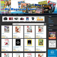Magazine Store Professionally Designed Affiliate Business Website For Sale