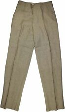 ARMANI COLLEZIONI LIGHT BEIGE LINEN PANTS-SIZE 31-MADE IN ITALY