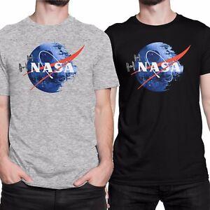 NASA-DEATH-STAR-Star-Wars-Humor-T-shirt-Men