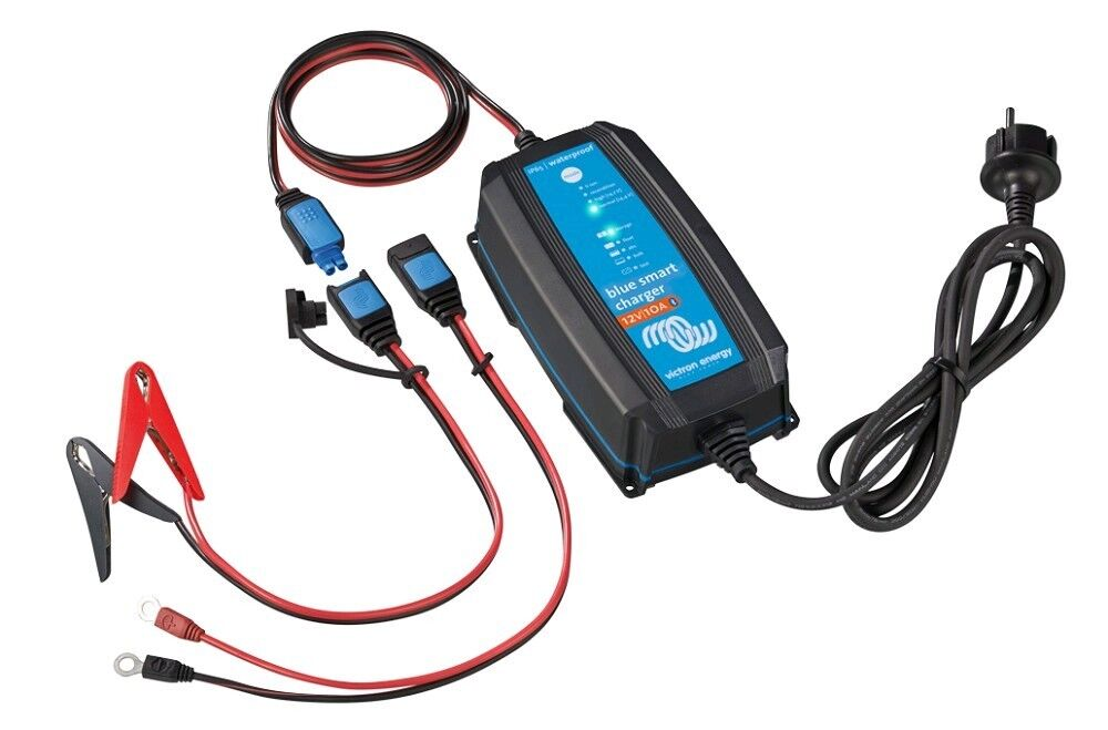 VICTRON - Blau IP65 Smart IP65 Blau Charger 12/7(1) 230V CEE 7/17 NEU 3c7683
