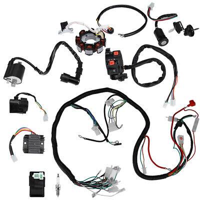 [DIAGRAM_5LK]  Full Electrics Wiring Harness Wire Loom For ATV QUAD CG150/200/250CC Stator  CDI | eBay | 250cc Roketa Wiring Harness |  | eBay