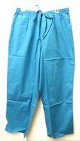 Jaylyn Uniforms 2xl Turquoise Nursing Ladies Elastic Waist Scrub Pants