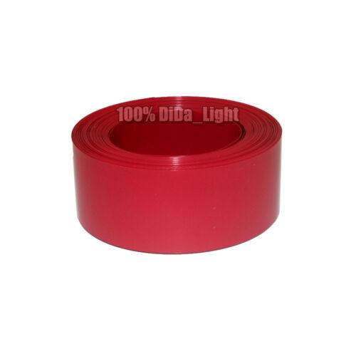 6 Color New Flat width 12mm Φ7mm PVC Heat Shrink Tubing Wrap