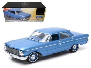 1 18 1965 XP Falcon Sedan bluee bluee bluee Sealed Body 50th Anniversary Ltd Greenlight 09d26d