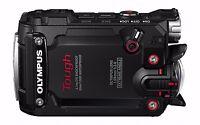 Olympus Stylus Tg-tracker Action Waterproof Camcoder Camera (black)