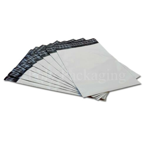 "100 x WHITE Mailing Bags 6x9""165x230mm Royal Mail LARGE LETTER Size A4 LL"