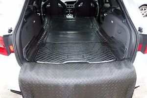 Details About Audi A4 Avant Estate B7 B8 Natural Rubber Boot Liner Load Mat Bumper Protector