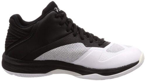 Blanco Control Asics Negro Ff Mt Voleibol Zapatos Cilíndrico Netburner Con Nuevo x6wqa0Fgg