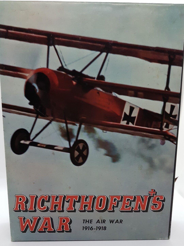Avalon Hill Richthofen's War 1916-1918  original english edition New wargame