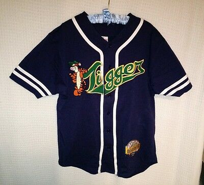 Tigger Baseball Jersey Medium Team Bouncer 1968 Disney Pooh